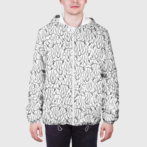 Мужская куртка 3D 'Кошки Путина'