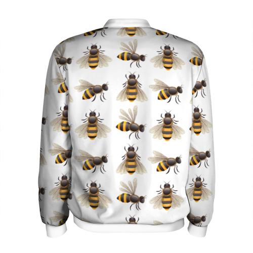Мужской бомбер 3D  Фото 02, Пчелы