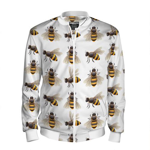 Мужской бомбер 3D  Фото 01, Пчелы