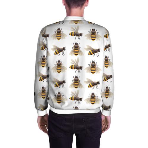 Мужской бомбер 3D  Фото 04, Пчелы