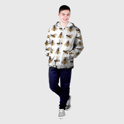 Мужская куртка 3D  Фото 03, Пчелы