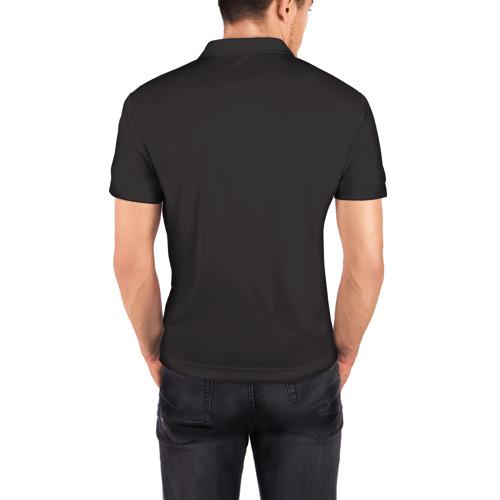 Мужская рубашка поло 3D  Фото 04, Рыбы (Pisces)