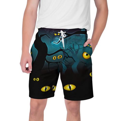 Мужские шорты 3D  Фото 01, Happy Halloween
