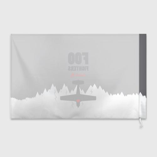 Флаг 3D  Фото 02, Самолет Foo Fighters
