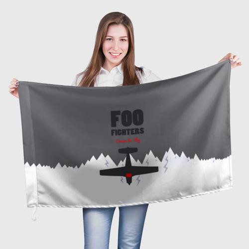 Флаг 3D  Фото 01, Самолет Foo Fighters