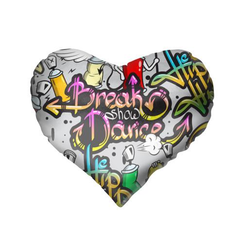 Подушка 3D сердце  Фото 02, Graffiti