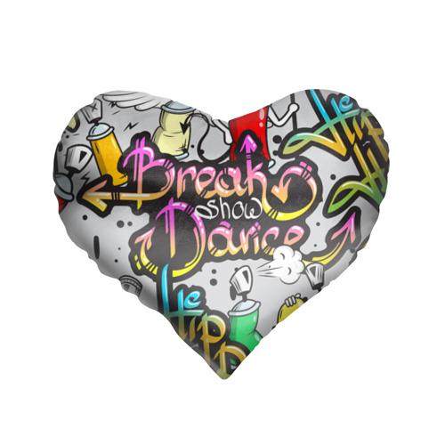 Подушка 3D сердце  Фото 01, Graffiti