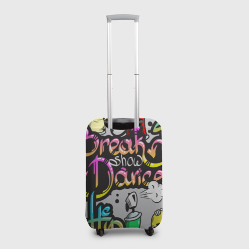Чехол для чемодана 3D Graffiti Фото 01