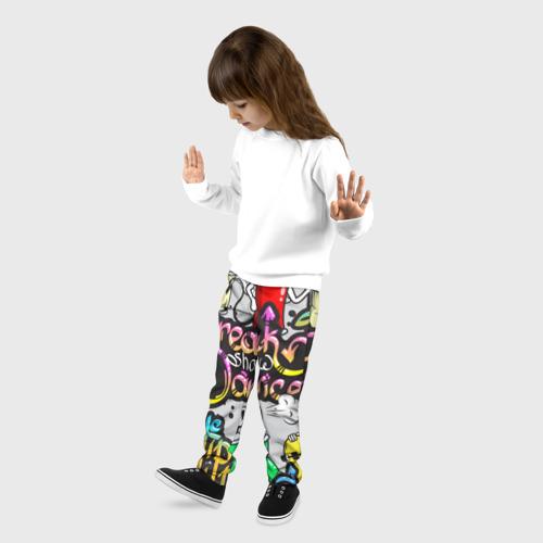 Детские брюки 3D Graffiti Фото 01