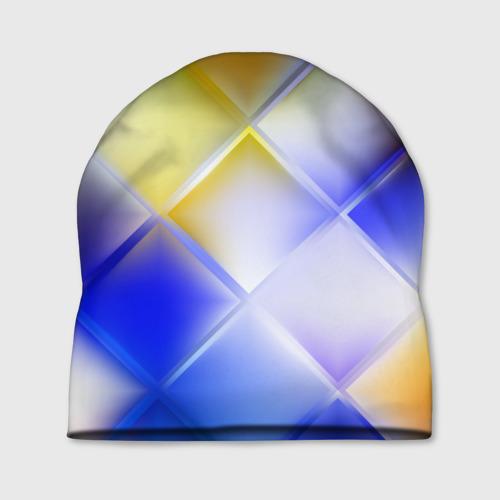 Шапка 3D  Фото 01, Colorful squares