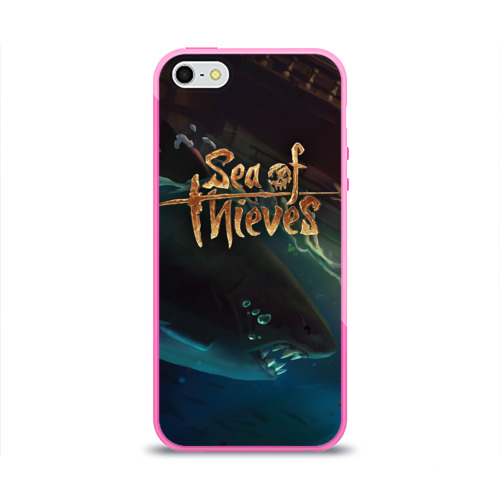 Чехол для Apple iPhone 5/5S силиконовый глянцевый Sea of thieves Фото 01