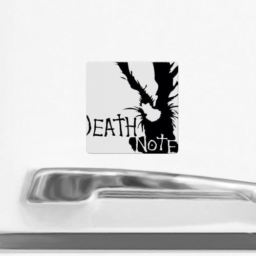 Магнит виниловый Квадрат  Фото 02, Death Note / Тетрадь смерти