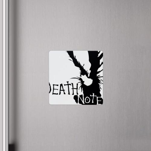 Магнит виниловый Квадрат  Фото 04, Death Note / Тетрадь смерти