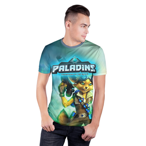 Мужская футболка 3D спортивная  Фото 03, Paladins