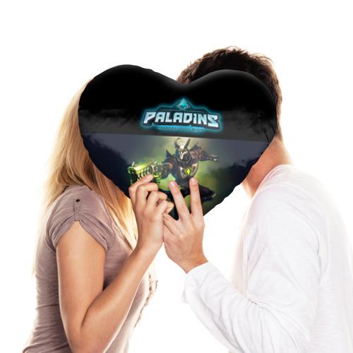 Подушка 3D сердце  Фото 03, Paladins