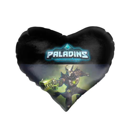 Подушка 3D сердце  Фото 01, Paladins