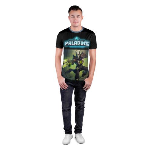 Мужская футболка 3D спортивная  Фото 04, Paladins