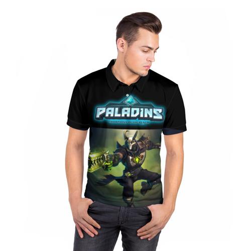 Мужская рубашка поло 3D  Фото 05, Paladins