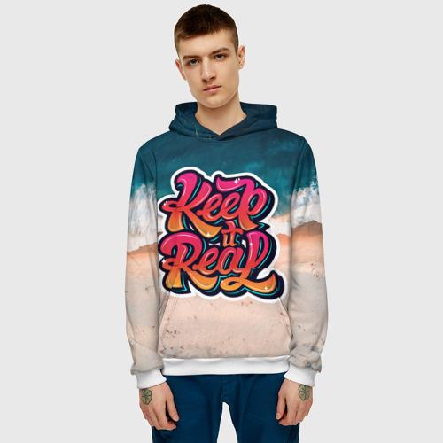 Мужская толстовка 3D  Фото 03, Keep it Real