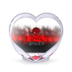 Череп и сердце Green Day