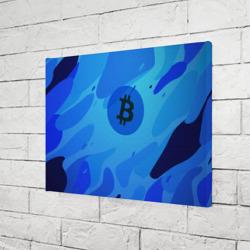 Blue Sea Camo Bitcoin