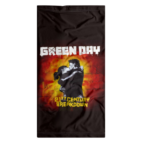 Бандана-труба 3D  Фото 07, Поцелуй Green Day