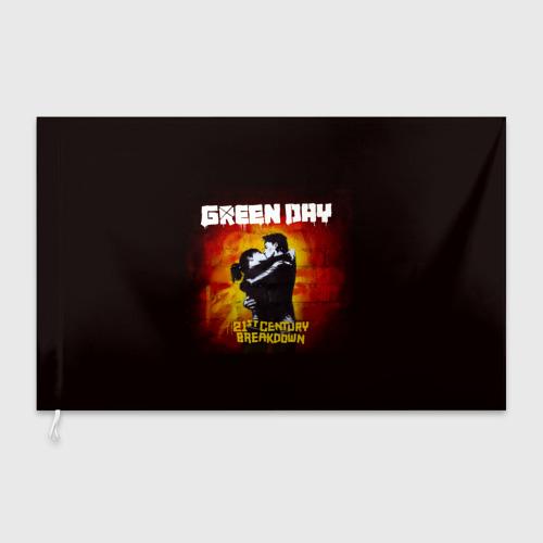 Флаг 3D Поцелуй Green Day Фото 01