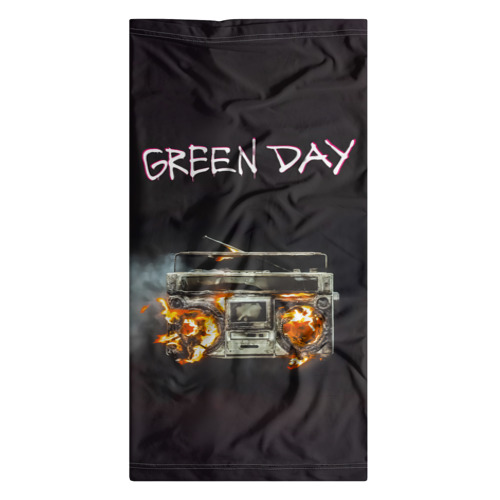 Бандана-труба 3D  Фото 07, Green Day магнитофон в огне