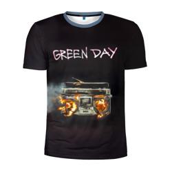 Green Day магнитофон в огне