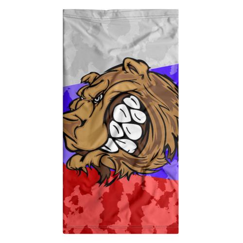Бандана-труба 3D  Фото 07, Русский Медведь