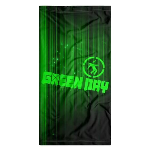 Бандана-труба 3D  Фото 07, Green Day лучи
