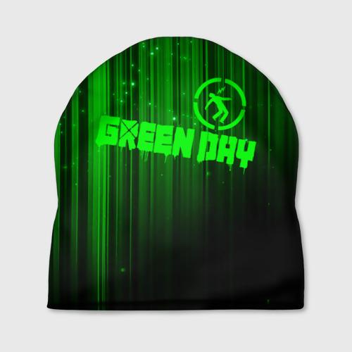 Шапка 3D  Фото 01, Green Day лучи