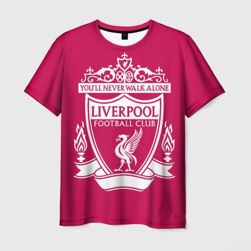 Мужская футболка 3D  Фото 01, Ливерпуль YNWA