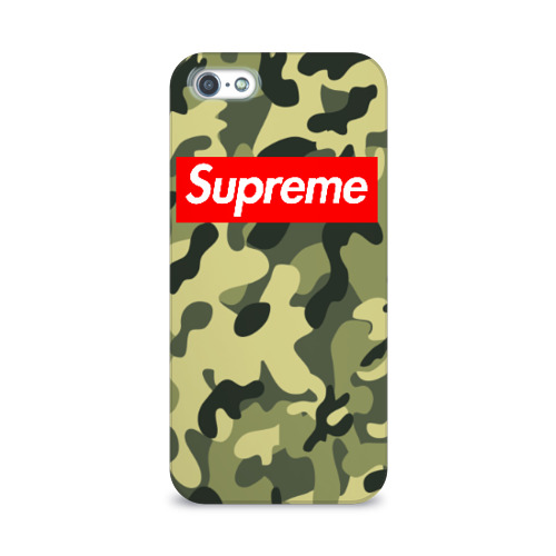 Чехол для Apple iPhone 5/5S 3D  Фото 01, Supreme military II