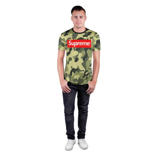 Мужская футболка 3D спортивная  Фото 04, Supreme military II