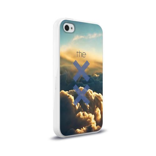 Чехол для Apple iPhone 4/4S силиконовый глянцевый  Фото 02, The XX
