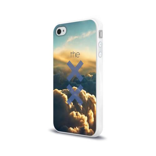 Чехол для Apple iPhone 4/4S силиконовый глянцевый  Фото 03, The XX