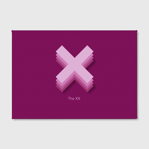 Холст прямоугольный  Фото 02, The XX