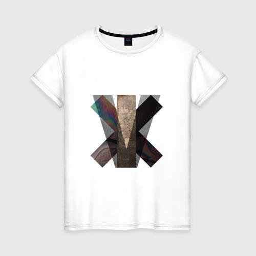 Женская футболка хлопок The XX