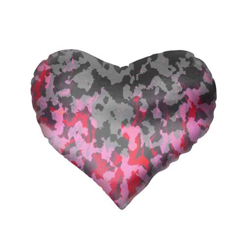 Подушка 3D сердце  Фото 02, Supreme Fire Милитари