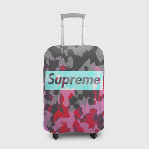 Чехол для чемодана 3D  Фото 01, Supreme Fire Милитари