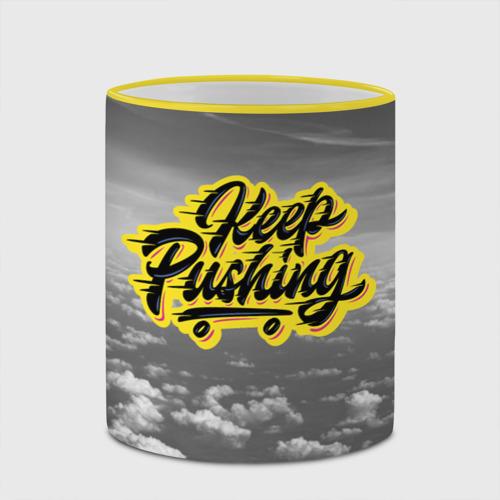 Кружка с полной запечаткой  Фото 03, Keep Pushing
