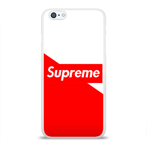 Supreme Red and White