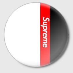 Supreme Red Black White