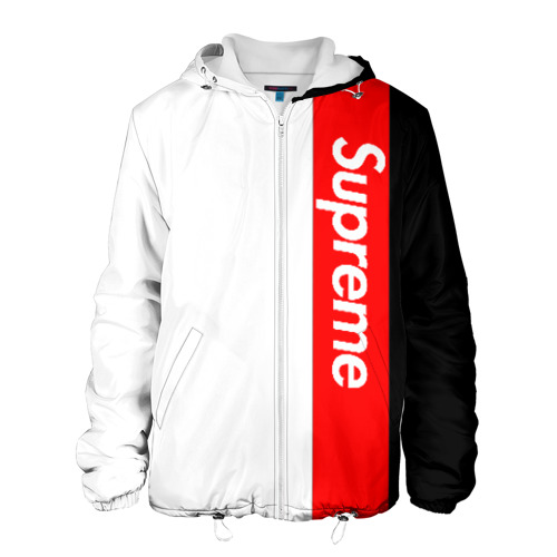 Supreme Red Black White