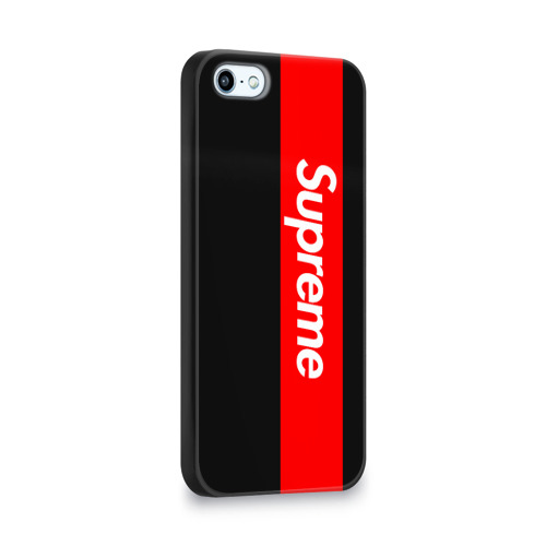 Чехол для Apple iPhone 5/5S 3D  Фото 02, Supreme Red and Black All
