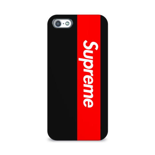 Чехол для Apple iPhone 5/5S 3D  Фото 01, Supreme Red and Black All