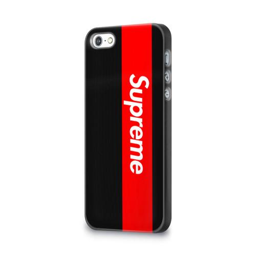 Чехол для Apple iPhone 5/5S 3D  Фото 03, Supreme Red and Black All
