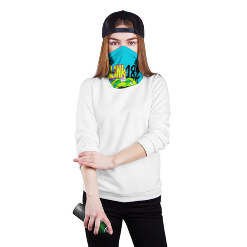 Бандана-труба 3D  Фото 02, Заяц монстр Blink-182