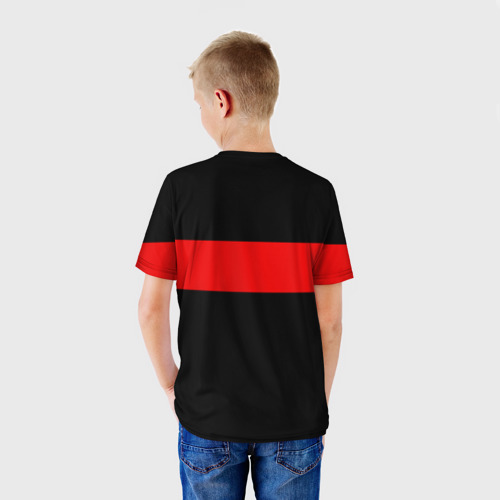 Детская футболка 3D  Фото 02, Supreme Red Line